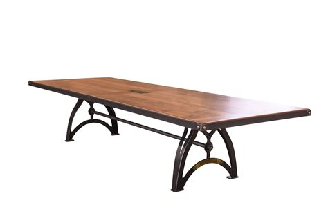 Industrial Conference Table Industrialux Conference Table Vintage Industrial Furniture