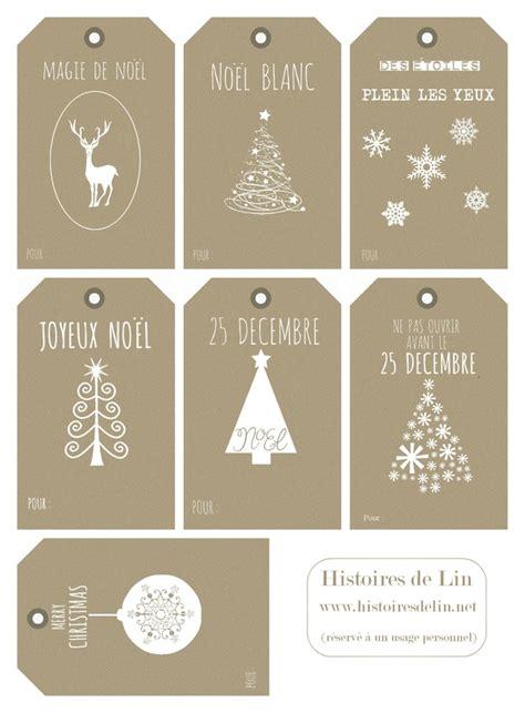 Etiquettes Cadeau Noel by 176 Astuce 176 Des 233 Tiquettes Pour Vos Cadeaux De No 235 L 224
