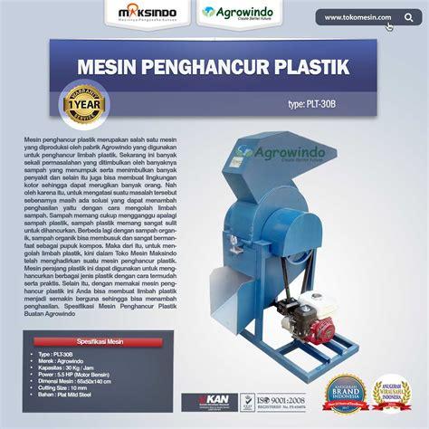 Plastik Bandung jual mesin penghancur plastik mesin biji plastik di