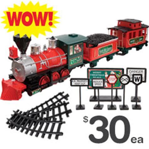 north pole express christmas train set 2014 dollar tree it s a winter gingerbread pine peppermint candles are 5 each milled