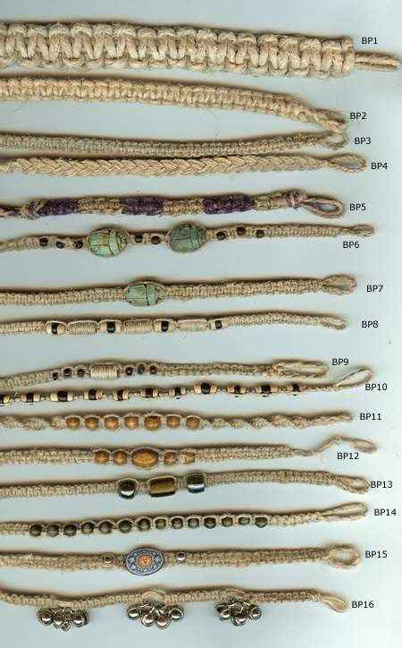 Hemp Braids Patterns - 25 best ideas about hemp bracelet patterns on