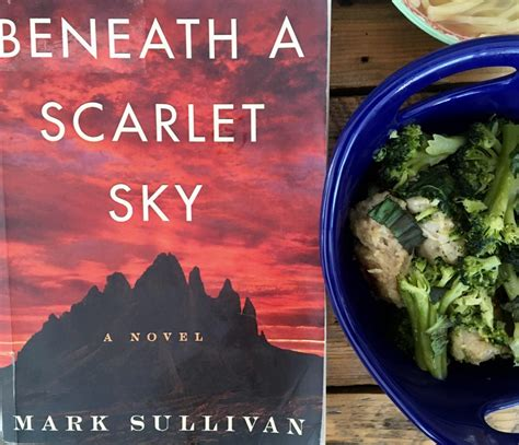 Beneath A Scarlet Sky A Novel sullivan s beneath a scarlet sky sicilian broccoli