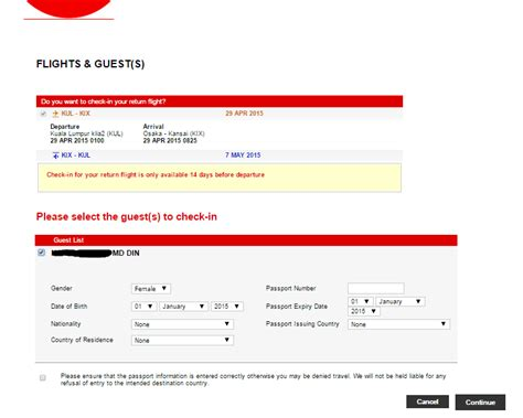 airasia hot boarding pass how to check in online and print out boarding pass at home