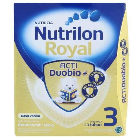 Nutrilon Royal 3 400 Gr nutrilon royal 3 acti duobio vanila 400gr box