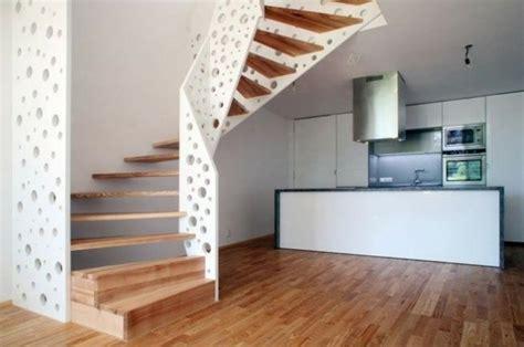 barandilla escalera madera escaleras de madera aluminio cristal 101 ideas