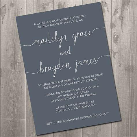 Wedding Invitation Wording Blended Family