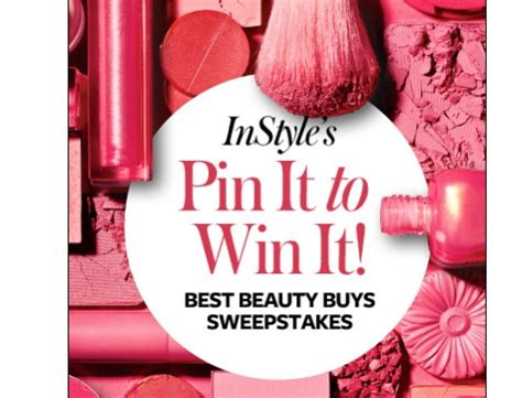 Instyle Sweepstakes - 12 contests on pinterest practical ecommerce
