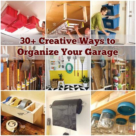 30 creative ways to organize your garage - Ways To Organize A Garage