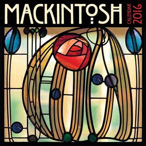 charles rennie mackintosh calendars 2018 on abposters com