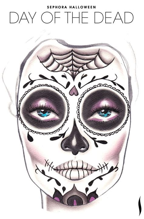 day of dead skull template day of the dead skull template www imgkid the