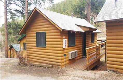 Cabins In Lead Sd by Ponderosa Motorlodge Cabins In Lead South Dakota 57754