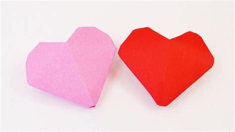 bettdecke zum herz falten 3d herz origami kleine herzen zum aufblasen falten