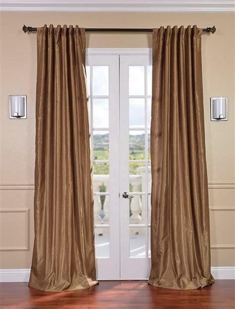 gold faux silk curtains flax gold vintage textured faux dupioni silk curtain