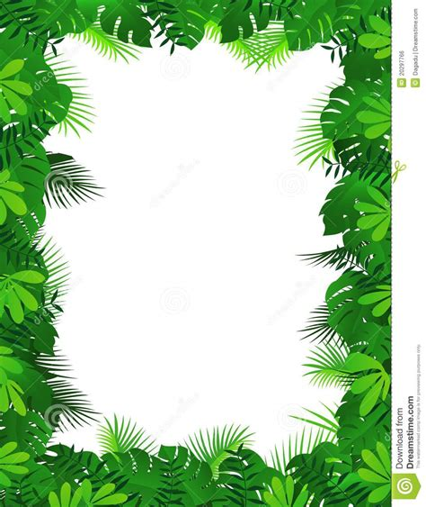 printable jungle writing paper jungle border writing paper www pixshark com images