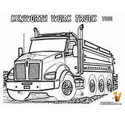 Dirty Dump Truck Coloring Pages  Trucks Free Construction
