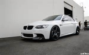 White Bmw M3 Alpine White Bmw E92 M3 Gets Some The Top Visual Upgrades
