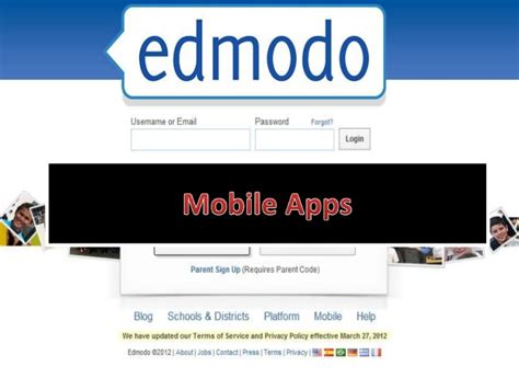 edmodo web mobile edmodo training 7 mobile apps and ideas for edmodo use