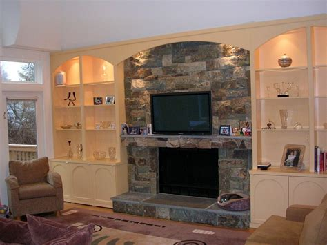 Built In Wall Units With Fireplace by Built In Wall Units
