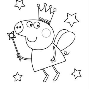 peppa pig fairy coloring pages peppa pig fairy coloring pages printable peppa best free