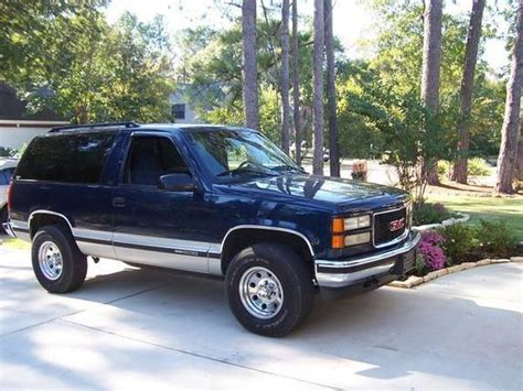 dexter12 1996 gmc yukon specs photos modification info at cardomain