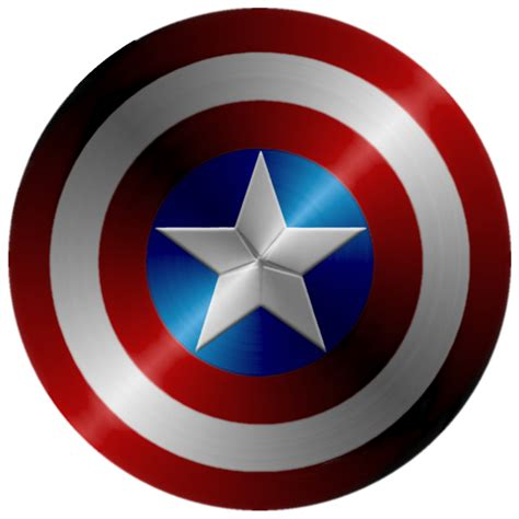 printable captain america star captain america shield redo by kalel7 on deviantart