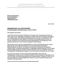 Initiativbewerbung Anschreiben Krankenhaus Bewerbung Als Orthop 228 De Orthop 228 Din Bewerbung Co