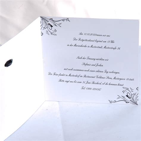 Hochzeitseinladungen Vorlagen Muster Einladungskarten Hochzeit Text Einladung Zum Paradies