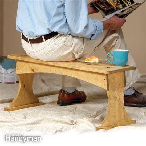 build  painting bench  family handyman
