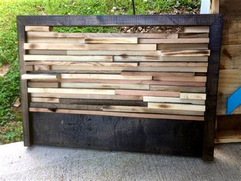headboards made from wood pallets 130 inspired wood pallet projects and ideas page 7 of