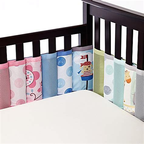 Crib Mattress Liner Breathablebaby 174 Mix Match Breathable Mesh Crib Liner Buybuy Baby