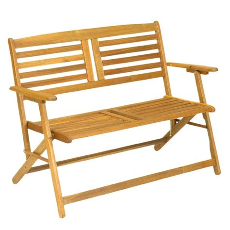folding outdoor bench folding garden bench in stock now greenfingers com
