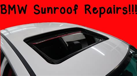 how to fix bmw how to fix common bmw e46 sunroof problems