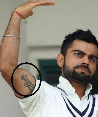 tattoo on virat kohli s arm virat kohli s 8 tattoos their meanings body art guru