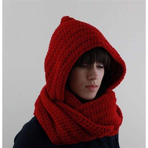 hooded scarf knit hooded scarf by zukas on etsy need