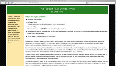 layout css tricks the perfect fluid width layout css tricks