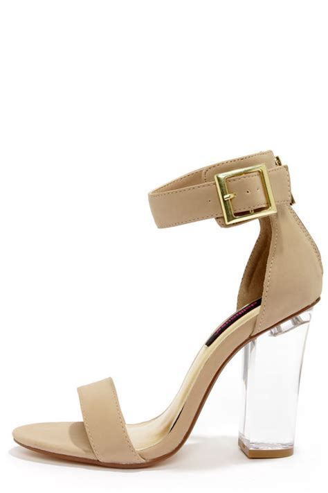 glass high heel pretty shoes lucite shoes dress sandals 47 00