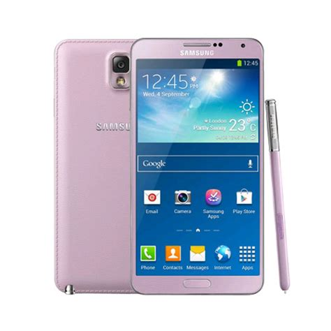 samsung galaxy note 3 n9005 unlocked lte 32gb pink expansys australia
