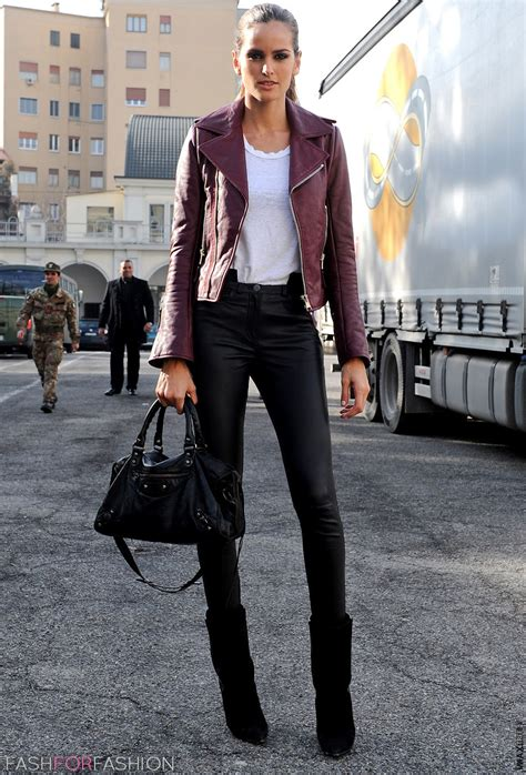 Leather Styles how to wear leather anywhere the fashion tag
