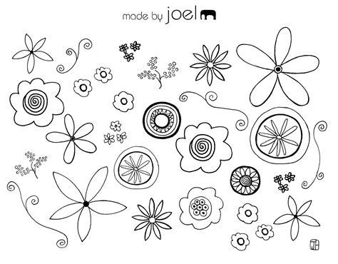 flores de hojas para imprimir moldes de flores y hojas para imprimir imagui