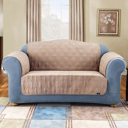 Pet Slipcover by Sure Fit Suede Pet Throw Sofa Cover Walmart