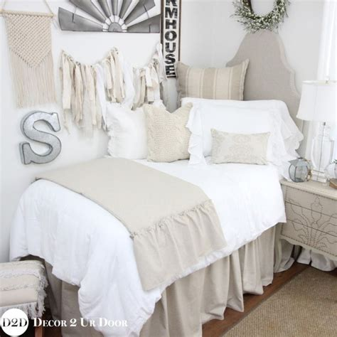 dorm comforter dorm bedding coral chevron and grey and white damask