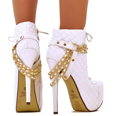 imagenes de botas blancas botas blancas altas de mujer 4
