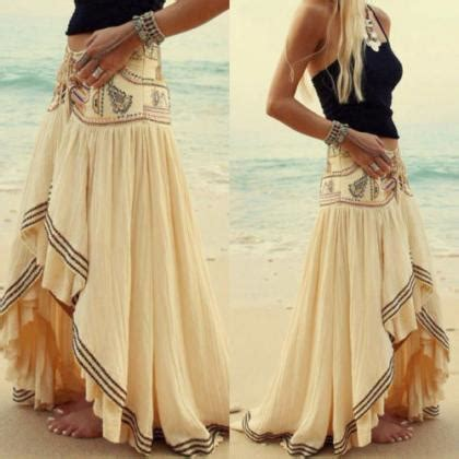 lon at the front and shorter at the back hairstyles bohemian skirt short front back long boho skirt e164 on luulla