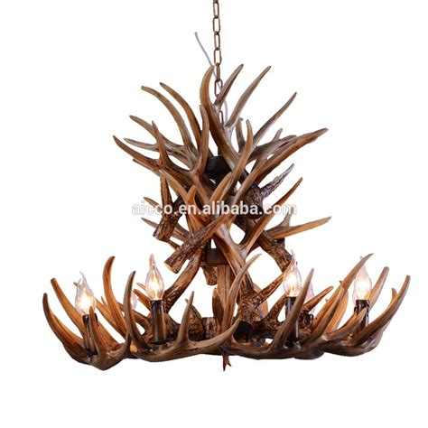 antler chandelier antique pendant light deer antler