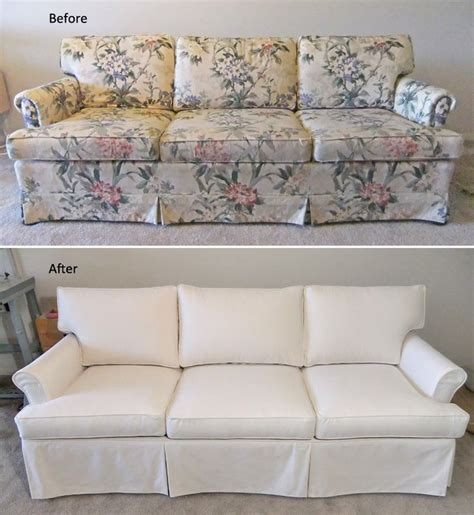 canvas slipcover sofa 9 best images about sherry s sofa chair slipcovers on