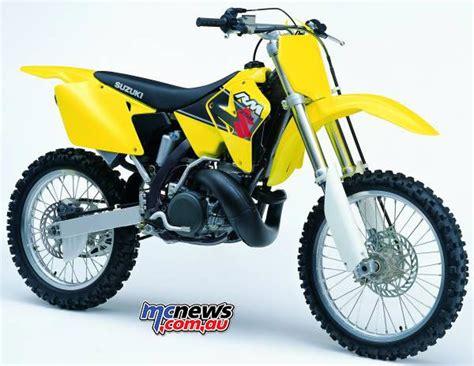 2001 Suzuki Rm250 flashback 2001 suzuki rm125 suzuki rm250 mcnews au