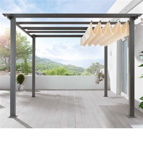 Pergola Canopy Ideas Steel Pergola With Retractable Canopy Pergola Gazebo Ideas
