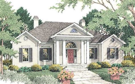 georgian style house plans 2402 square foot home 1