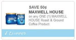 0 50 1 maxwell house coffee coupon 1 49 at meijer