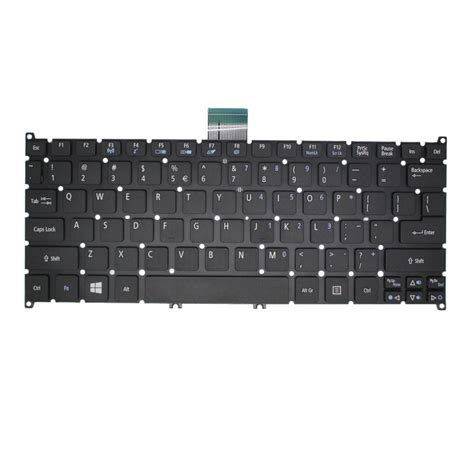 keyboard acer aspire one 725 756 black jakartanotebook